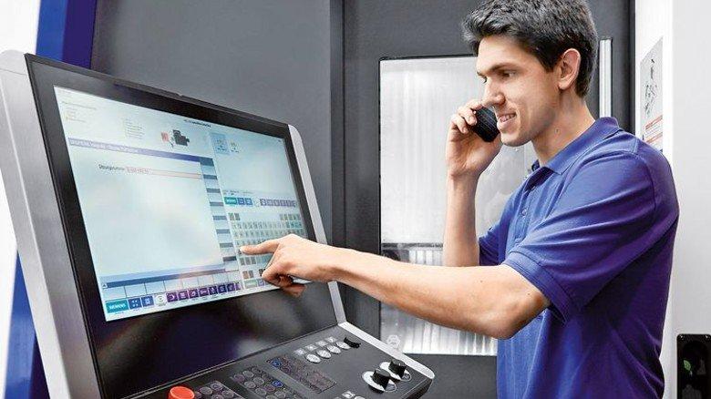 Heller setzt auf Service: Der Kunde zahlt nur, wenn die Maschine tatsächlich läuft. Foto: Werk