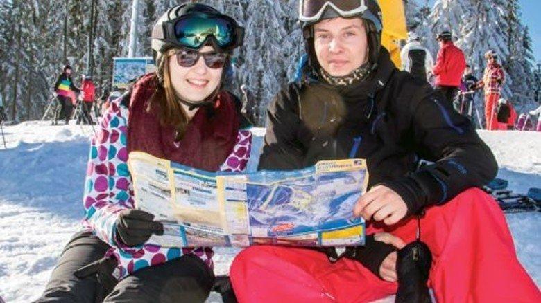 Was für ein Wetter! Da können Wintersport-Fans schöne Touren planen. Foto: Wintersportarena