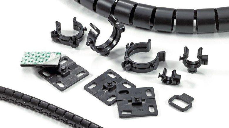 Umfangreiches Angebot: Das norddeutsche Unternehmen liefert diverse Produkte für alle Kabelgrößen und -typen. Foto: HellermannTyton