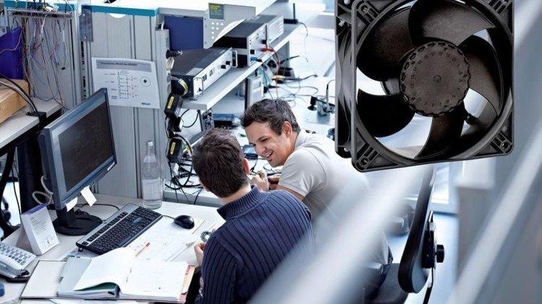 Elektrotechnik: 77 Prozent Energieverbrauch sparten die Entwickler von ebm-papst in St. Georgen bei einem Ventilator. Foto: Werk