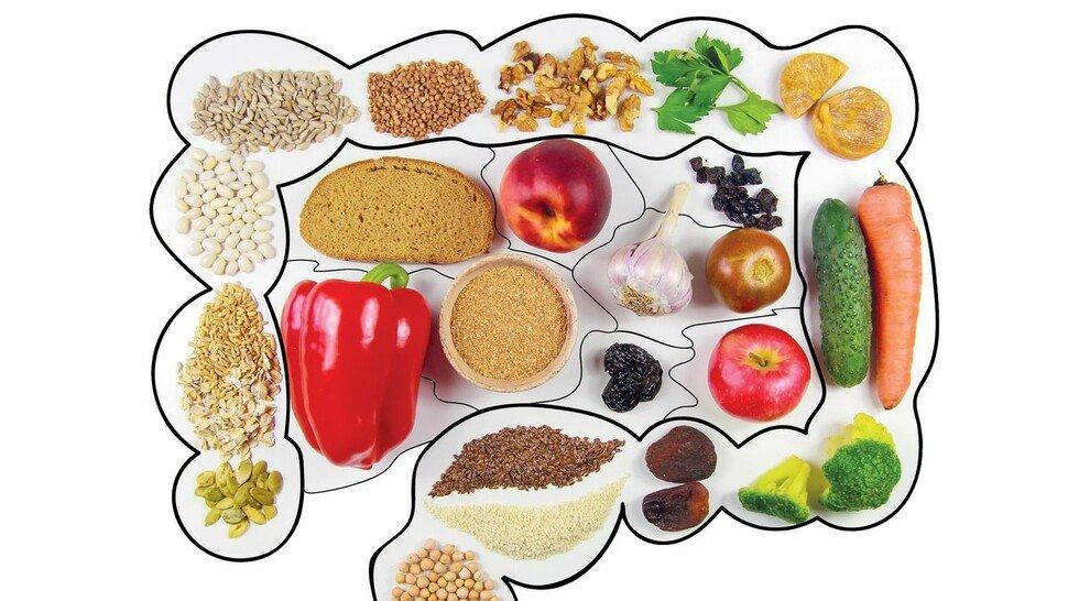 Guten Appetit: Eine gesunde Ernährung regt Darm und Stoffwechsel an.