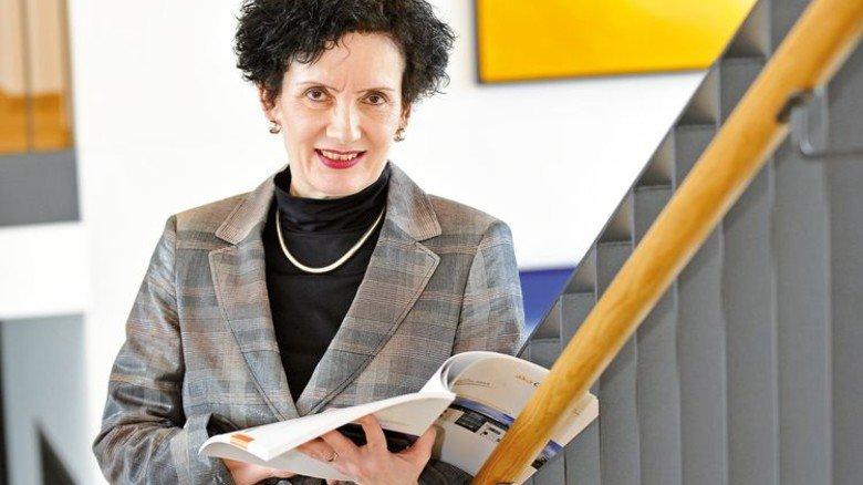 Zukunft im Blick: Akademieleiterin Walburga Lehne. Foto: Sigwart