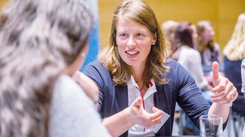 Oft die einzige Frau in Meetings: Wiebke Kelterborn von Audi schildert ihre Erfahrungen. Foto: Herzig