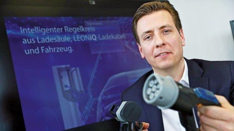 Hat viele Ideen: Torsten Schierholz lotet für Leoni neue Geschäftsmodelle aus. Foto: Karmann