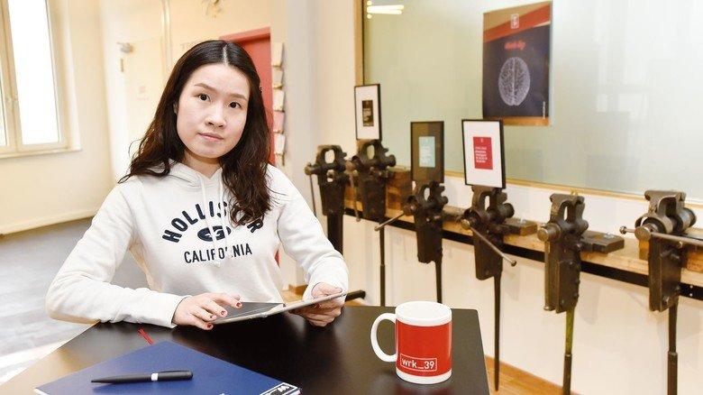 Mitarbeiter aus alle Welt, wie Rosa Han, ergänzen die Kernmannschaft im Werk_39.