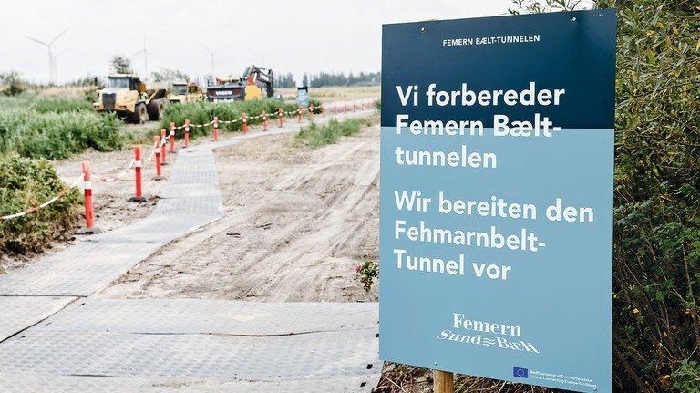 Baustelle: In Dänemark haben die Arbeiten bereits begonnen.