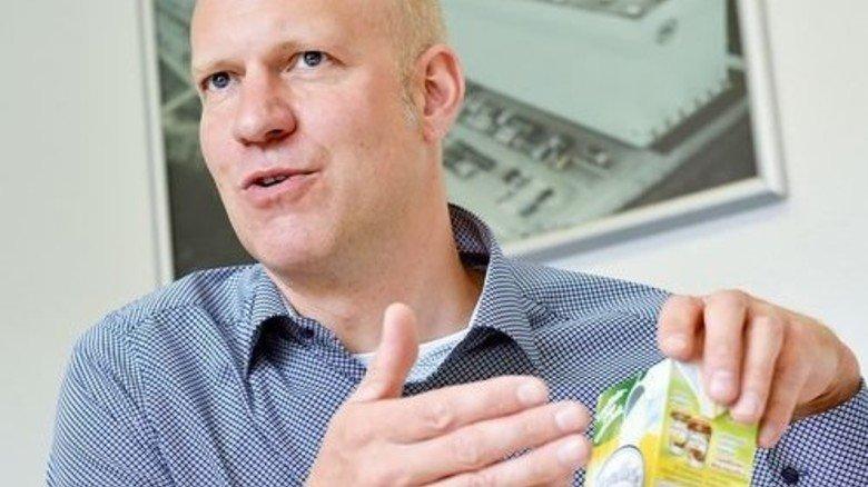 """""""Der Markt in Europa stagniert"""": Werkleiter Detlef Kaase erklärt, warum der Wettbewerb härter geworden ist. Foto: Deutsch"""