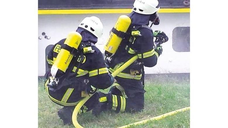 In der Freizeit ist die junge Frau bei der freiwilligen Feuerwehr. Foto: Privat