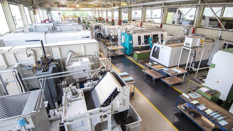Produktionshalle: Das Remscheider Unternehmen setzte im vergangenen Jahr 16 Millionen Euro um.