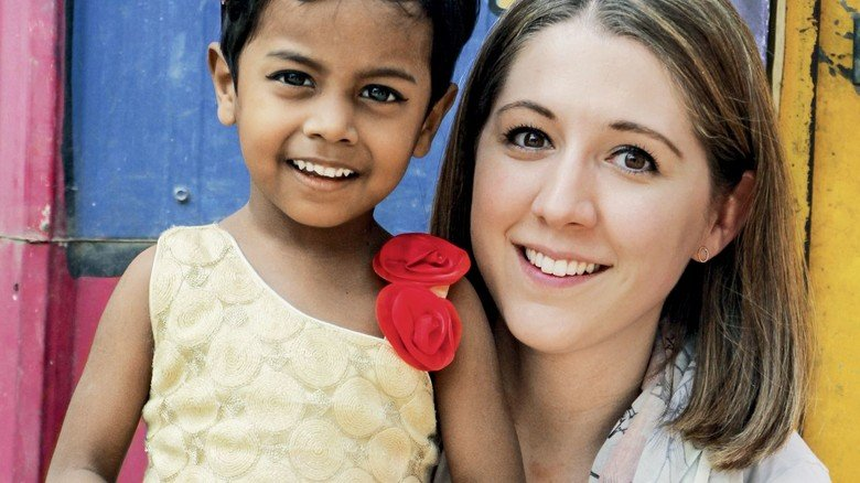 Soziales Engagement: Alissa Sekulics Arbeitgeber unterstützt in Dhaka eine Initiative, die Kindern aus den örtlichen Slums einen Schulbesuch ermöglicht.