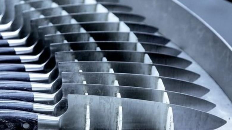 Produktion bei Friedr. Dick: Auf das Material kommt es an – und auf die Verarbeitung. Foto: Mierendorf