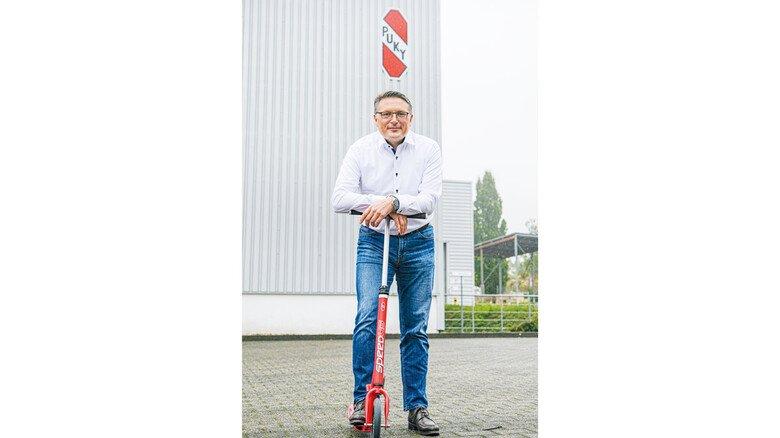 """Mathias Heller, Geschäftsführer von Puky: """"Viele sind bereit, 300 Euro für ein Kinderrad zu zahlen."""""""