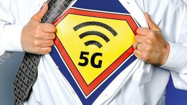 Mega-Wandel: Wie Superman soll 5G stark, sicher und stabil sein. Foto: Roth