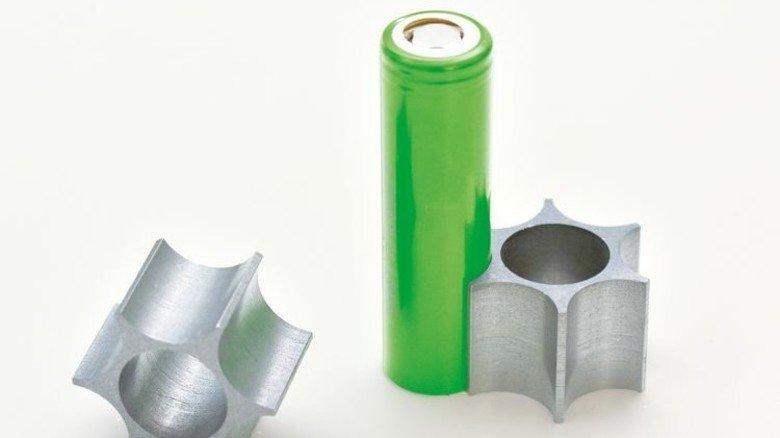 Zukunftsträchtig: Werkstoff für das Thermomanagement von Batterien. Foto: Werk