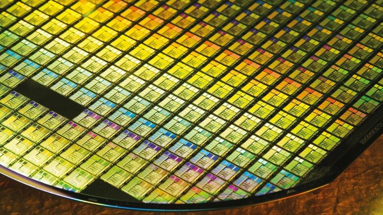 Technologische Meisterwerke: Silizium-Wafer sind das Grundmaterial für alle Mikrochips.