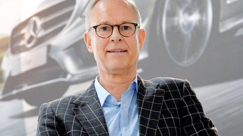 """""""Ab 61 wollte ich auch noch mal was anderes machen."""" Manfred Henkis, ehemaliger Leiter des Kundenservice der Daimler-Betriebskrankenkasse. Foto: Bahlo"""