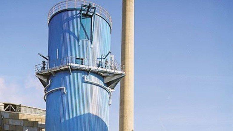 Für Abnehmer auf allen Kontinenten: Ein Extraktionsturm für Zuckerrüben, hier in einer Zuckerfabrik in der Schweiz. Foto: Huth