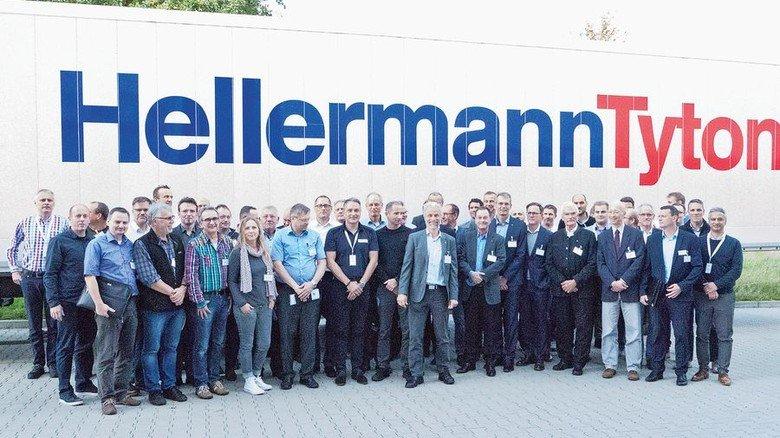 Austausch: Die Teilnehmer des VDI-Arbeitskreistreffen bei HellermannTyton. Foto: privat