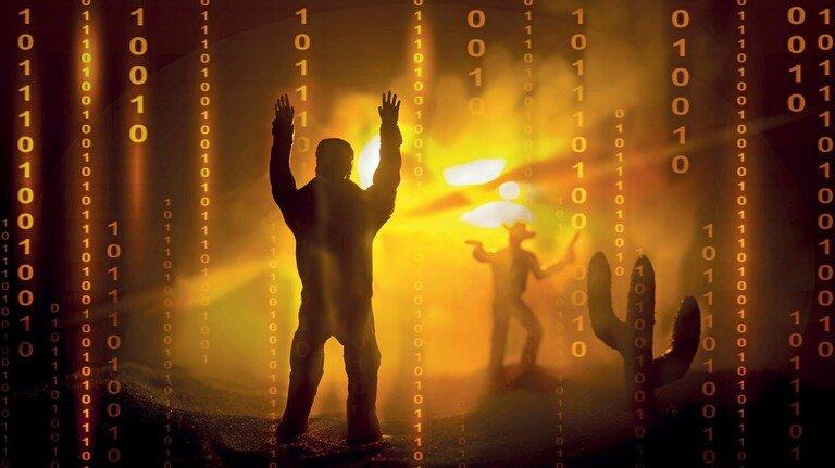 Das ist ein Überfall! Gangster verschlüsseln Firmendaten – und geben sie erst gegen Zahlung eines Lösegelds wieder frei.