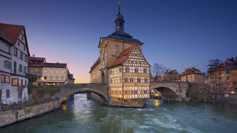 Bamberg: Altes Rathaus.