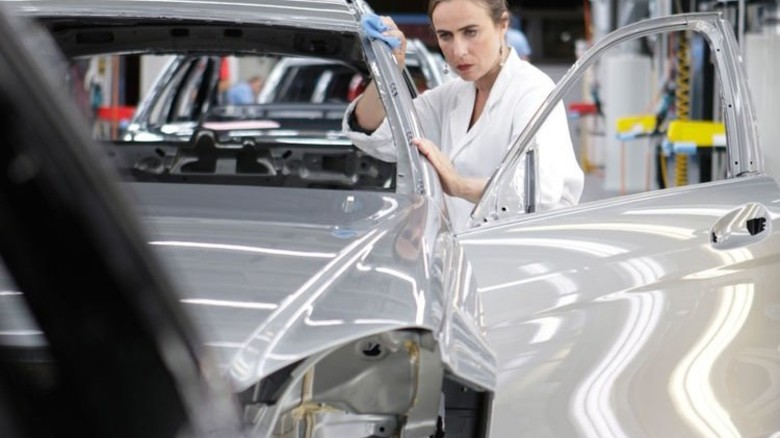 … und in der Produktion von Mercedes-Benz in Bremen. Foto: Werk