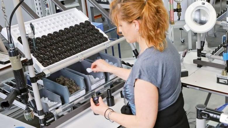 Produktion: Die Montage in Plettenberg. Foto: Werk