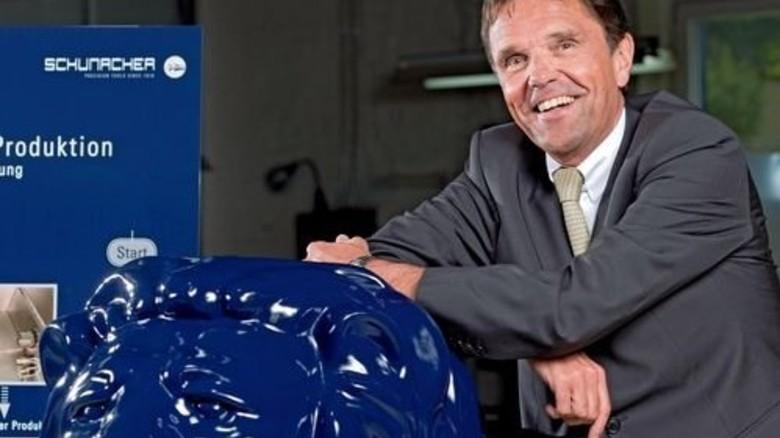 """""""Wir holen inzwischen Produktionsaufträge nach Deutschland zurück."""" Bernd Schniering, Geschäftsführer. Foto: Moll"""