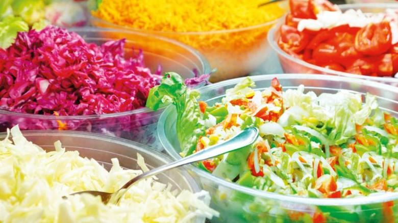 SKF: In der Kantine des Wälzlagerherstellers kommen regelmäßig kalorienarme und fettreduzierte Speisen auf den Tisch. Foto: Adobe Stock