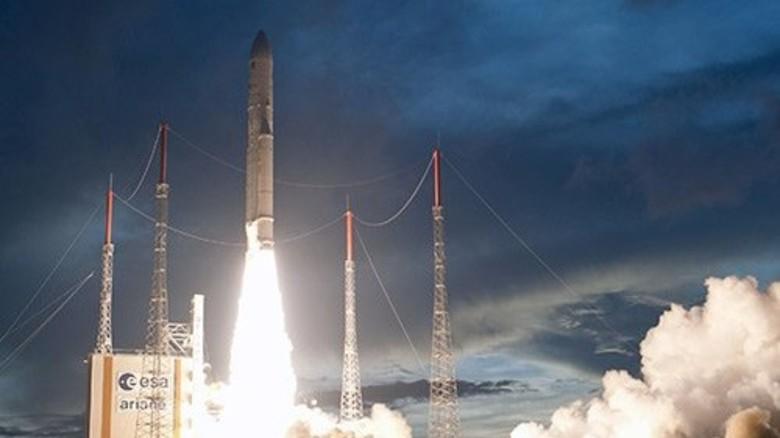 Erfolgsmodell: Die Ariane-Rakete gilt als zuverlässig und robust. Foto: EADS