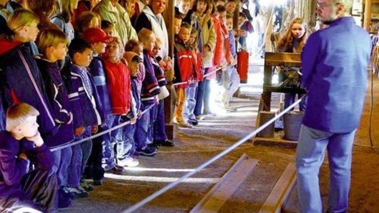 Historische Seilerei: So wurden früher etwa Taue hergestellt. Foto: LWL