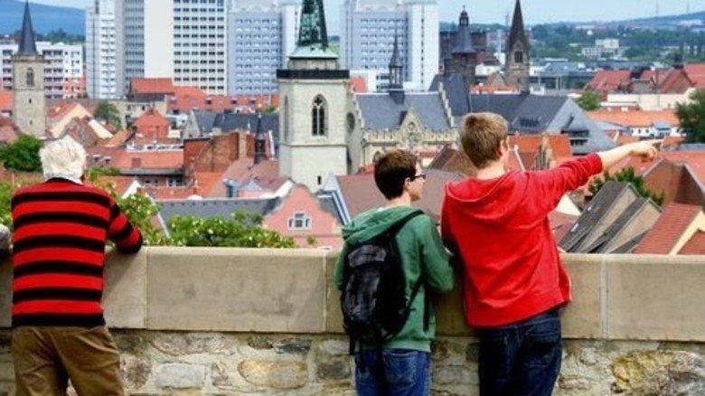 Erfurt erkunden: Thüringen schneidet beim Thema Bildung gut ab. Foto: dpa