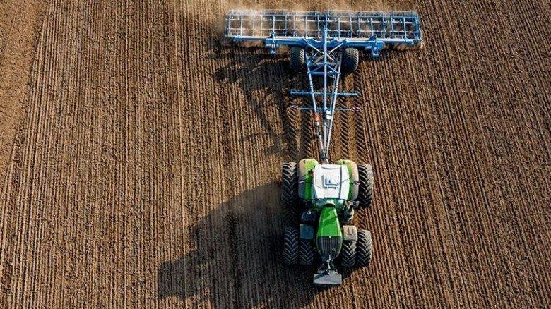 Technik auf dem Acker: Sie übernimmt viele Aufgaben der Bauern. Foto: Fendt
