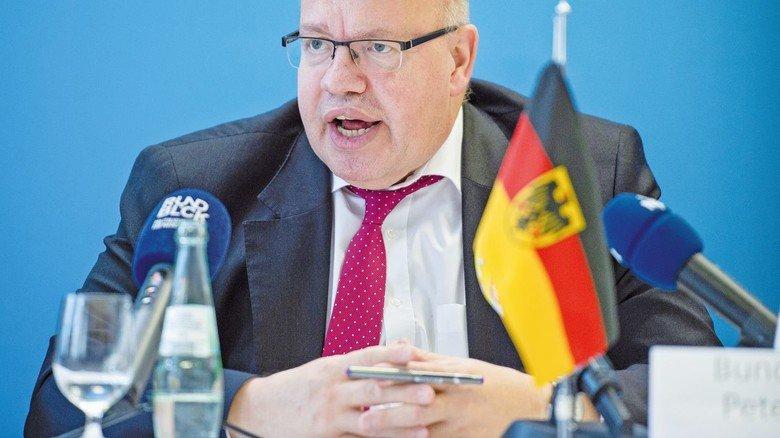 Peter Altmaier: Er will der Wirtschaft helfen – seine Pläne gehen aber noch nicht weit genug.