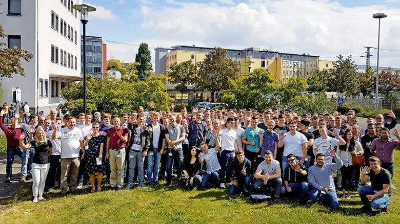 Einsteiger: Allein bei Siemens in Hessen haben 91 junge Menschen eine Ausbildung begonnen. Foto: Scheffler