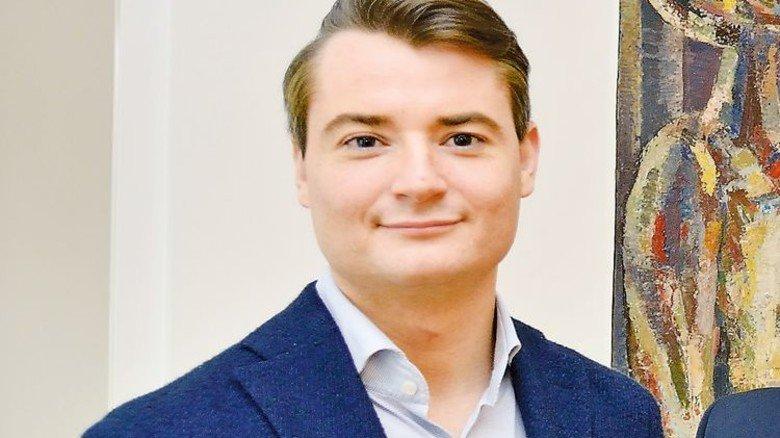 Er unterstützt das neue Studienzentrum: Jakob Rinninger (STI Group). Foto: Scheffler