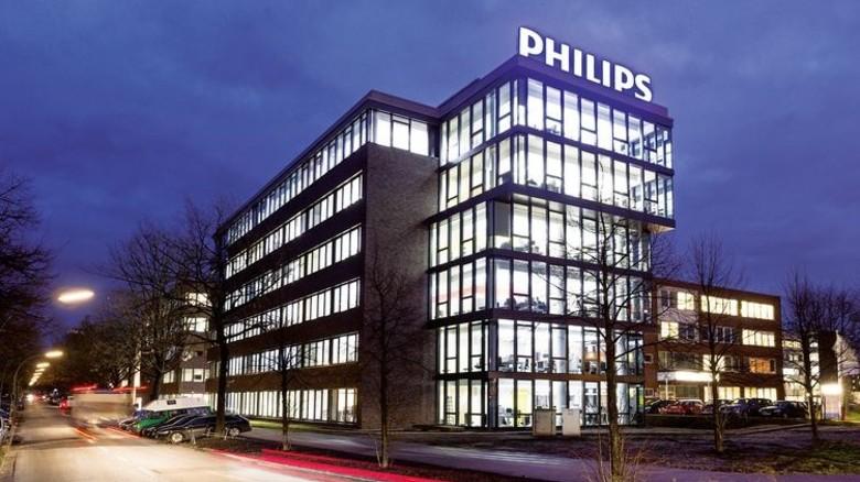 Innovativ: Die neue Philips-Zentrale am Hamburger Flughafen. Foto: Werk