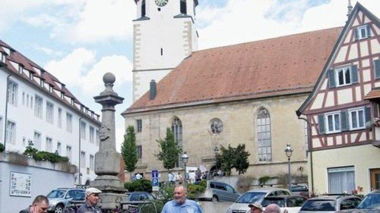 Schmucke Kulisse: Waldenbuch lockt unter anderem mit alten Fachwerkbauten. Foto: Winkler