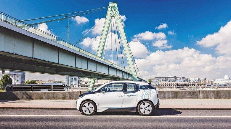 Längst auf dem Markt: Der BMW i3, den man bei Drive-Now ausleihen kann.