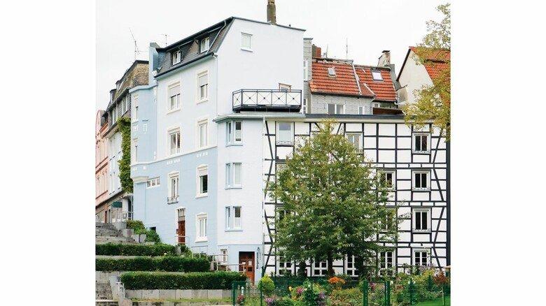 Azubihaus: Das Wohnprojekt liegt verkehrsgünstig mitten in der Iserlohner Altstadt.