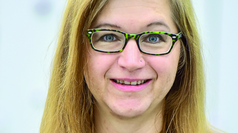 Rebekka Kuhlen (37), Vertriebsassistentin aus Henstedt-Ulzburg. Foto: Christian Augustin