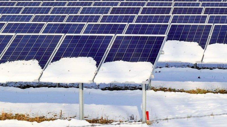 … und 1,2 Millionen Solaranlagen konnten nicht liefern. Foto: dpa