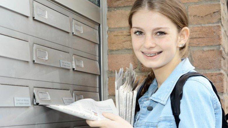 Klassischer Schülerjob: Zeitungen austragen, Prospekte verteilen. Foto: Adobe Stock