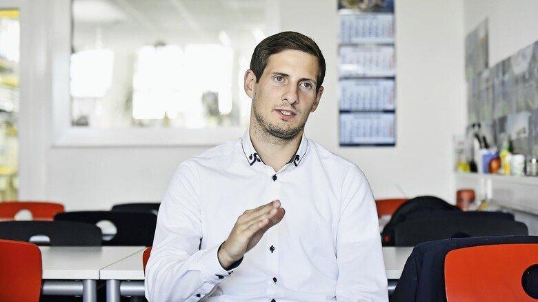 Tobias Nick, Projektleiter Hauni Straw Maker