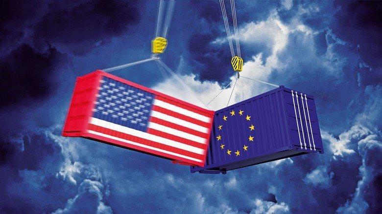 Container-Crash: Ein Zoff um Zölle trifft unsere exportorientierte Wirtschaft besonders.