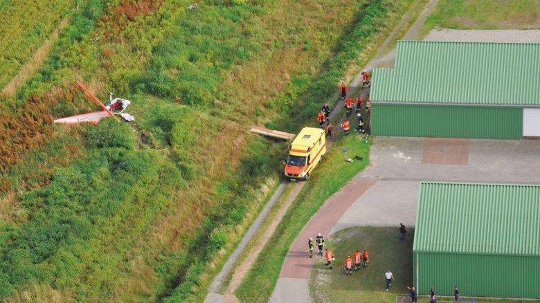 Der Absturz und seine Folgen: Bei dem Unfall erlitt Detlef Oltmanns zahlreiche Brüche, die in einer  Bremer Klink behandelt wurden. Foto: Privat
