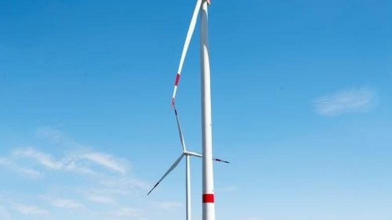 Optimiert für wenig Wind: Solche Rotoren werden in Walting errichtet. Foto: Straßmeier