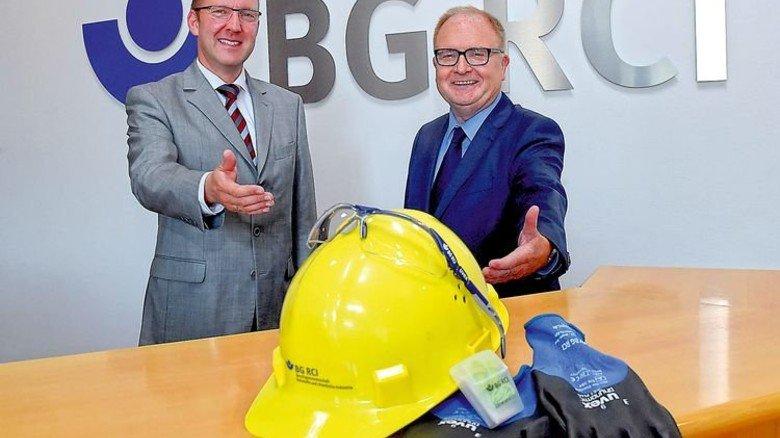 Engagiert: Harald Wellhäußer (links) und Klaus Münch liegt das Wohl der Belegschaften am Herzen. Foto: Sandro