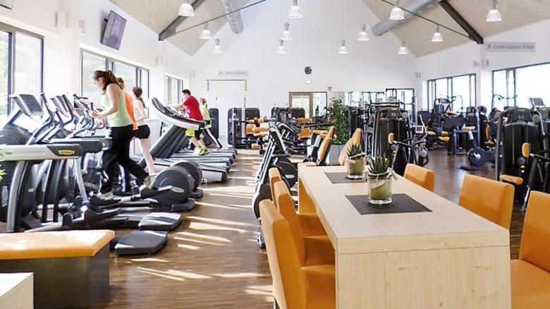 Für die Gesundheit: Fitnesscenter bei Groz-Beckert. Foto: Werk