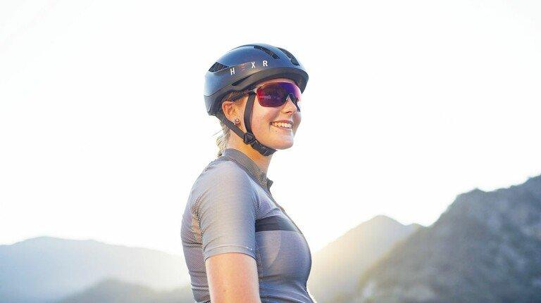 Sitzt perfekt: Der innovative Helm aus dem Drucker.