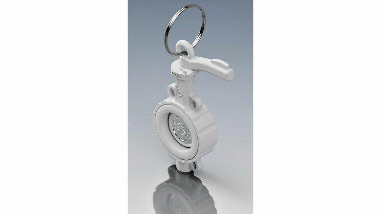Industriearmatur: Ebro regte Miniatur ihrer Produkte an.